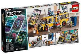Купить <b>Конструктор LEGO Hidden</b> Side 70423 Автобус охотников ...