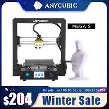 <b>ANYCUBIC Mega S 3d</b> Printer i3 Mega Upgrade DIY 3d Color ...