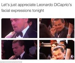 Twitter erupts with Leonardo DiCaprio and Lady Gaga Golden Globes ... via Relatably.com