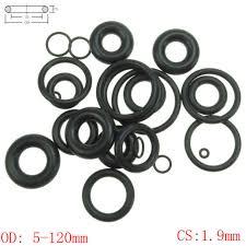 Online Shop <b>CS</b> 4mm OD14-98mm NBR Rubber O Ring O-Ring Oil ...