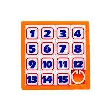 Цена на <b>Головоломка Эврика Пятнашки Orange</b> 90039