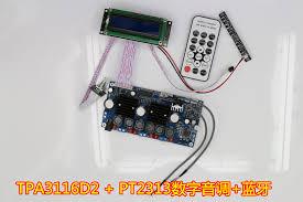 2.1 channel Bluetooth digital subwoofer <b>amplifier board TPA3116D2</b> ...