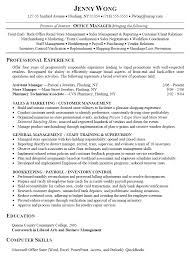 Resume Examples  Sample Resume of Store Manager  sample resume of         Resume Examples  Example Of Resume For Office Manager Position With Professional Experience As Assistant Manager