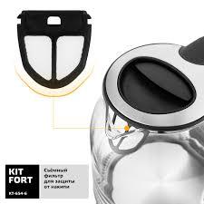 <b>Электрический чайник Kitfort</b> КТ-<b>654</b>-<b>6</b> в Екатеринбурге – купить ...