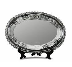 <b>Тарелка металлическая</b>, <b>овальная</b> с печатью купить в Казани по ...