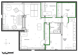 basement design with framing and wiring basement lighting options 1