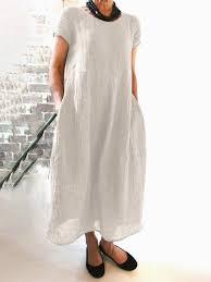 Linen Maxi Dresses – NORACORA