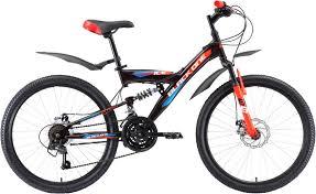 <b>Велосипед BLACK ONE Ice</b> FS 24 D чёрный/красный/синий ...