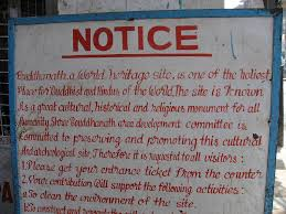 photo essay daily life at boudhanath stupa sign at entrance to boudhanath stupa