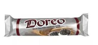 Doreo Chocolate Black Cream Biscuit <b>12 pairs</b> 140 gm
