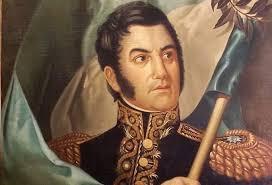 El 14 de febrero de 1817, el general San Martín, jefe del ejército argentino, entra triunfalmente en Santiago de Chile, abandonada por las tropas españolas. - 08-general-san-martin