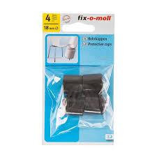 <b>Наконечник</b> защитный для мебельных <b>ножек</b> d18мм черный 4шт ...