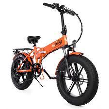 <b>ENGWE EP-2 500W</b> Bicicleta elétrica dobrável de pneu gordo com ...