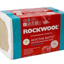 Звукоизоляция <b>Rockwool</b> - Плиты Роквул <b>Акустик Баттс</b> купить ...