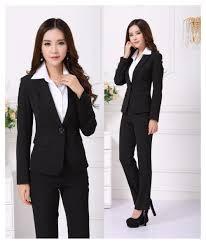 formal pantsuit blazer women suits pant work wear sets office image is loading formal pantsuit blazer women suits pant work