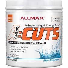 Allmax Nutrition <b>Aminocuts Acuts</b> Bcaa - 210 g (Blue Raspberry ...