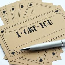 i owe you template info coupon pack cute i owe you love coupon pack for