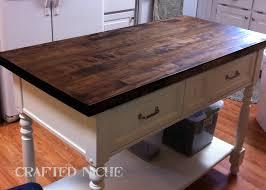 countertops dark wood kitchen islands table: snazzy brown wood diy butcher block counter kitchen