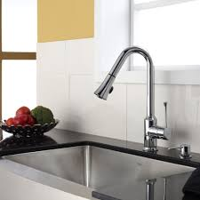 Stainless Steel Kitchen Faucets Stainless Steel Kitchen Sink Combination Kraususacom