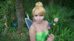 tinker bell make up tutorial