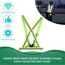 <b>Breathable Traffic Night Work</b> Security Running Cycling Safety ...