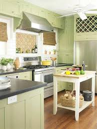green cabinets calm
