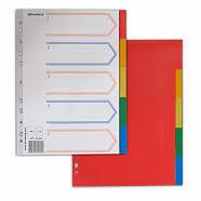 <b>Разделители</b> для папок, картотек в ассортименте