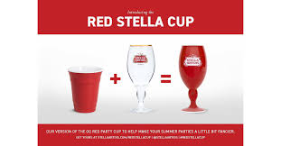 Stella Artois Is Making The <b>Red Party</b> Cup A Little More Stylish This ...