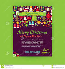 merry christmas holiday vector template banner flyer modern flat merry christmas holiday vector template banner flyer modern flat