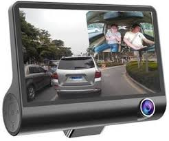 Callmate <b>WDR</b> Dashcam <b>3</b> Camera <b>Lens</b> Video Car DVR Full HD ...