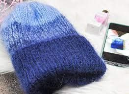 Стильная шапка: описание вязания - Блог интернет-магазина ...