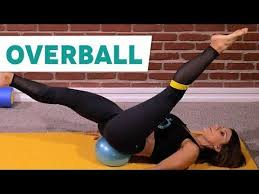Pilates Workout with a Small Exercise <b>Ball</b> - YouTube | <b>Ball</b> ...