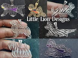 <b>Little Lion</b> design - handmade <b>dog</b> jewelry&art - Jewelry/Watches ...