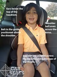 Booster Seat Basics-Guide to Shoulder <b>Belt</b> Guides - Car Seats <b>For</b> ...