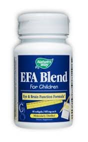 <b>EFA Blend for Children</b> 60 Softgels , made by natures-way