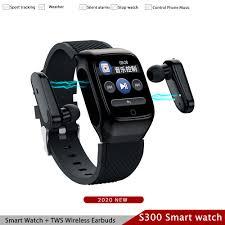 <b>S300</b> Smart Watch Men TWS <b>Earbuds</b> With Sports <b>Bluetooth</b> ...