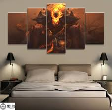 <b>5 Panel LOL League</b> of Legends Thresh Game Canvas Printed ...