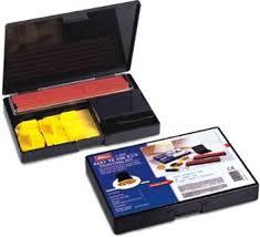 shiny RUBBER STAMP <b>KIT S</b>-100 Self Inking Stamp Kit Price in ...