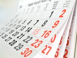 Image result for calendrier