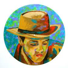 City Boy Painting - city-boy-denise-landis