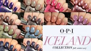 <b>OPI Iceland</b> Collection | Live Application + Dupes - YouTube