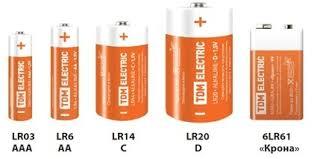 Элементы питания (<b>батарейки</b>), Звонки и элементы питания ...