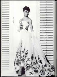 Audrey wore this gown in Sabrina, adding to her iconic image.