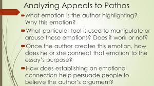 rhetorical strategies lesson writing tip commas analyzing appeals to pathos iuml130acute w hat emotion is the author highlighting