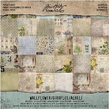 Wallflower Paper Stash by Tim Holtz Idea-ology, 36 ... - Amazon.com