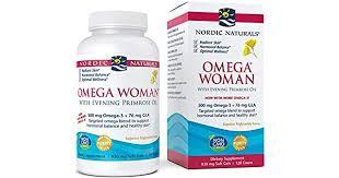 Nordic Naturals - <b>Omega Woman</b>, <b>Evening</b> Primrose Oil Blend, 120 ...