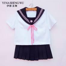 Shop Girls <b>Japanese School</b> Uniform for <b>Jk Sailor</b> - Great deals on ...