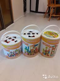 Кубики, деревянный <b>конструктор Wooden Toys</b> Blocks купить в ...