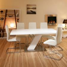 Modern White Dining Room Set Modern Dining Room Sets As One Of Your Best Options Designwallscom
