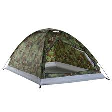 <b>TOMSHOO</b> Camping Tent for 1 or <b>2 Person</b> Single Layer Outdoor ...